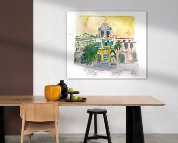 Rio De Janeiro Largo Do Boticario Altstadthäuser von Markus Bleichner