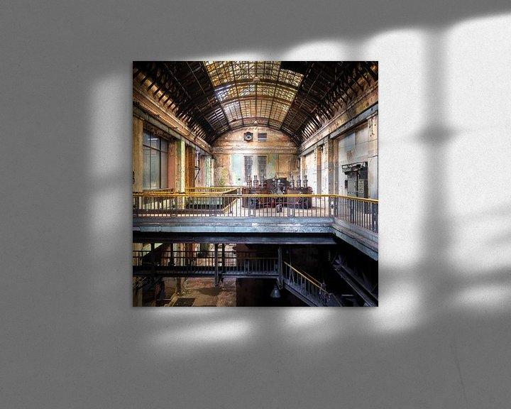 Sfeerimpressie: Verlaten Industrie in Verval. van Roman Robroek