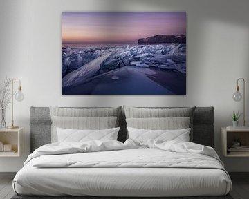 Zonsopkomst Baikalmeer van Peter Poppe