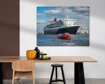 HAMBURG Queen Mary 2, Cunard line