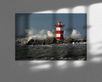 La tête de port de Scheveningen sur Marian Sintemaartensdijk