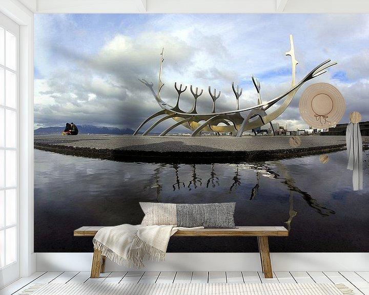 Beispiel fototapete: Sólfar  Reykjavík von Patrick Lohmüller