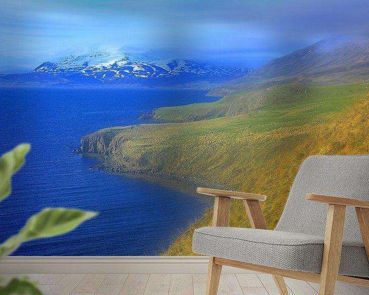 Beispiel fototapete: Landschaft Island von Patrick Lohmüller