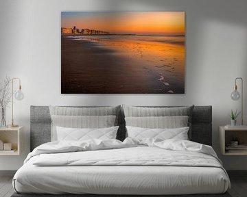 Skyline Blankenberge van Peter Deschepper