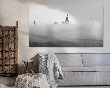 Zutphen Turmstadt monochrom von Vladimir Fotografie