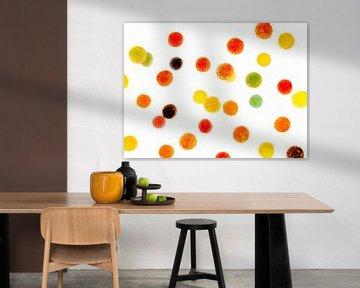 Floating Fruit Gums! sur David Hanlon