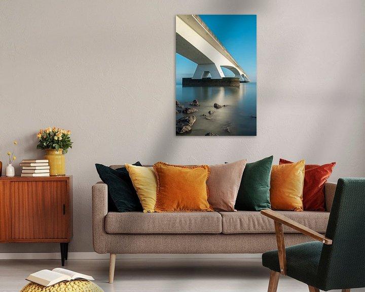 Sfeerimpressie: lange sluitertijden aan de zeelandbrug (2) van Midi010 Fotografie
