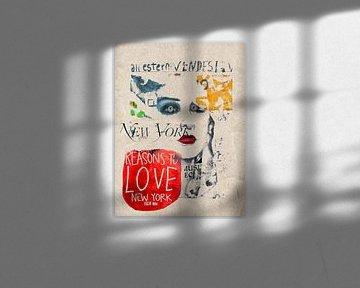 The Venetian beauty and LOVE van Gabi Hampe