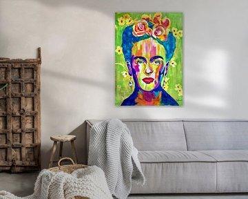 Frida von Kathleen Artist Fine Art