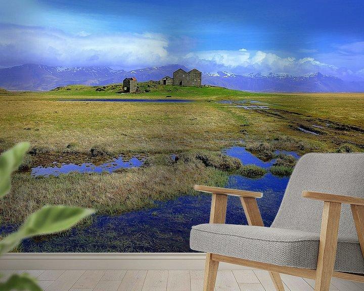 Beispiel fototapete: Landschaft auf Island von Patrick Lohmüller