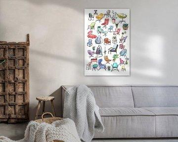Sweet Home - Innenausstattung und Möbel -1 von Ariadna de Raadt