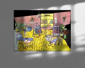 Sweet Home - Innenausstattung und Möbel -3 von Ariadna de Raadt