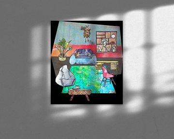 Sweet Home - Innenausstattung und Möbel -5 von Ariadna de Raadt