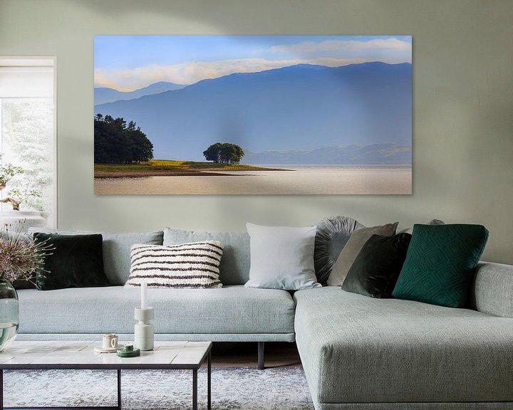 Sfeerimpressie: Avondlicht over Loch Linnhe, Schotland van Henk Meijer Photography