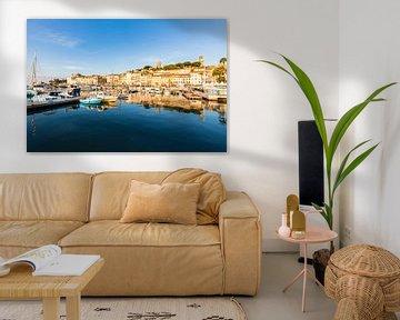 La vieille ville du Suquet à Cannes sur la Côte d'Azur sur Werner Dieterich