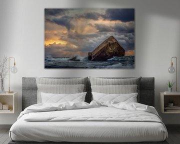 Atlantikwall Frankrijk van Peter Poppe
