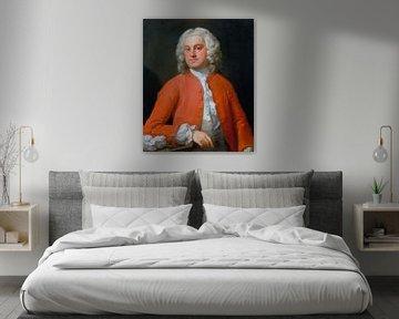 Porträt eines Mannes, William Hogarth