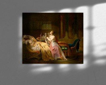 Kalliope trauert um Homer, Jacques-Louis David