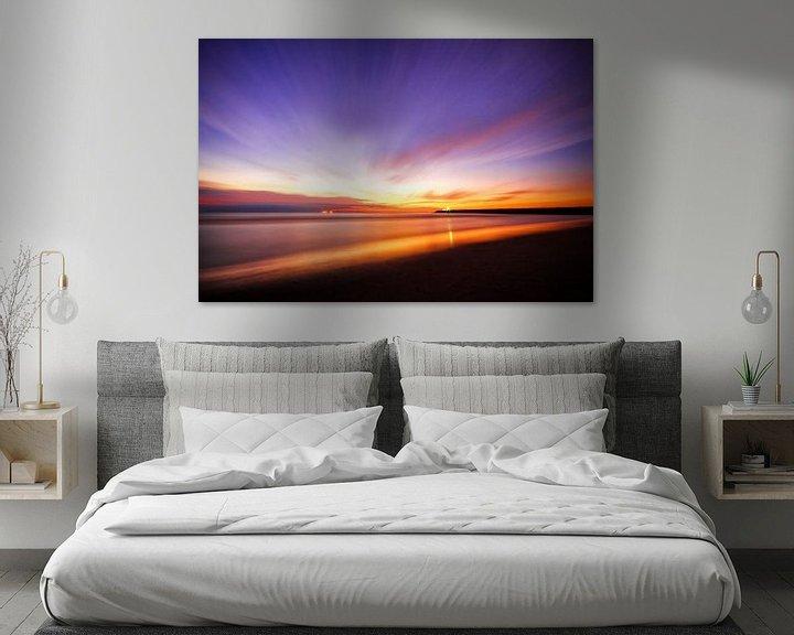 Sfeerimpressie: Sunset Sonata van Cho Tang