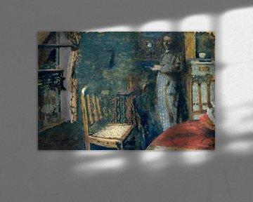 Frau am Fenster, Édouard Vuillard