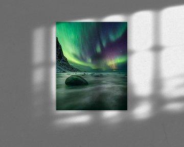 Poollicht Noorwegen van Peter Poppe