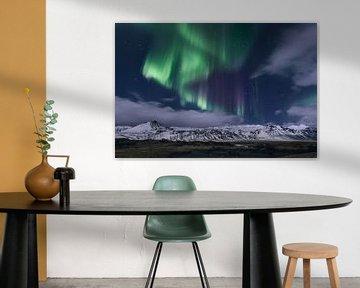 Poollicht IJsland van Peter Poppe