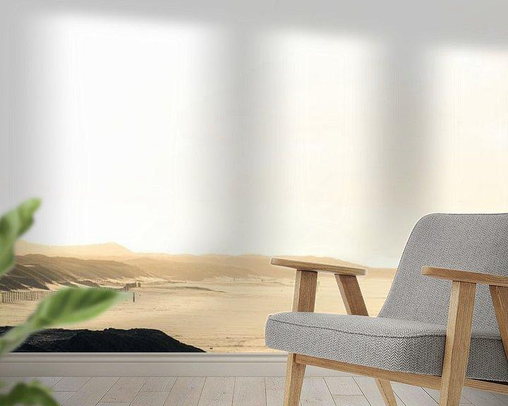 Sfeerimpressie behang: Loneliness Becomes You van Cho Tang