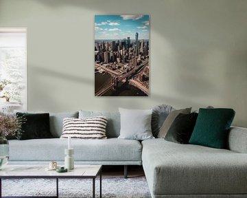 New York City Views van Eva Ruiten