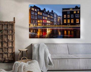 Voorburgwal Amsterdam van Sander Groenendijk