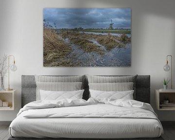 Boezemmolen no. 6, Haastrecht - Hoogwater van Rossum-Fotografie