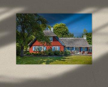 Historisches Reetdachhaus in Born am Darß, Mecklenburg-Vorpommern von Christian Müringer