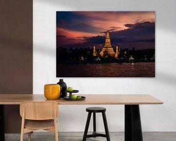Wat Arun, Bangkok van Martijn de Voogd