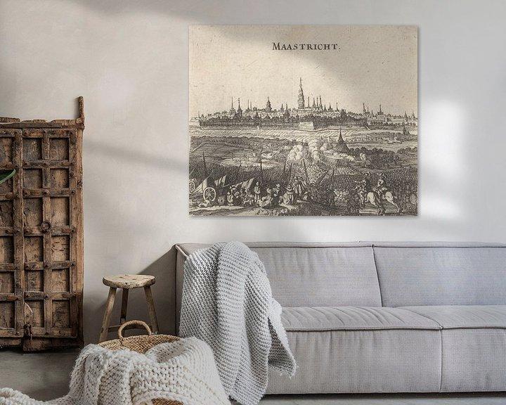 Beispiel: Belagerung von Maastricht, 1632, anonym, 1650 - 1652