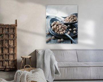 SF11286637 Stilleven van kikkererwten op lepels van BeeldigBeeld Food & Lifestyle