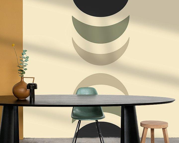 Sfeerimpressie behang: Mallen 3 van Rene Hamann