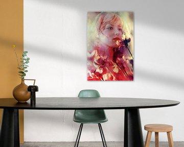 Zeg het met bloemen van Marijke de Leeuw - Gabriëlse
