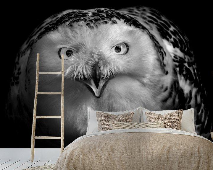 Sfeerimpressie behang: De blik van Ruud Peters