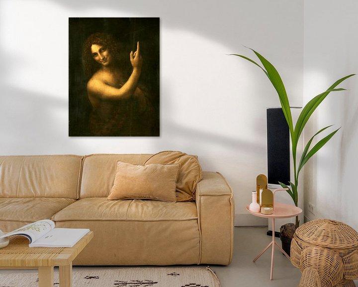 Beispiel: Der heilige Johannes der Täufer, Leonardo da Vinci