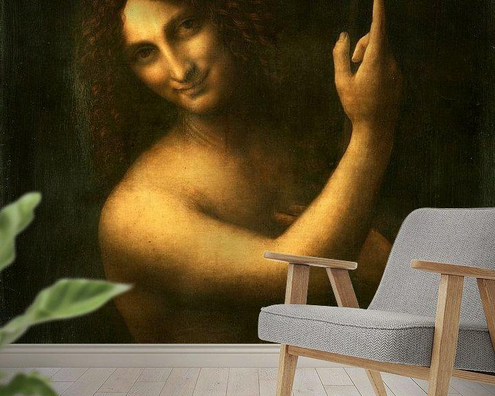 Beispiel fototapete: Der heilige Johannes der Täufer, Leonardo da Vinci