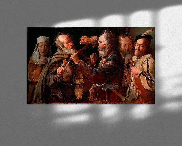 Beispiel: Schlägerei der Musiker, Georges de La Tour