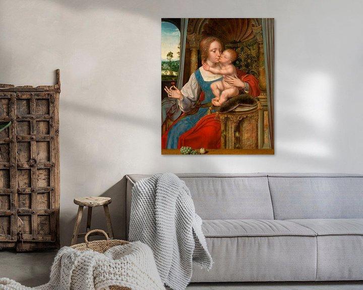 Beispiel: Maria mit Kind, Quinten Massijs (I)