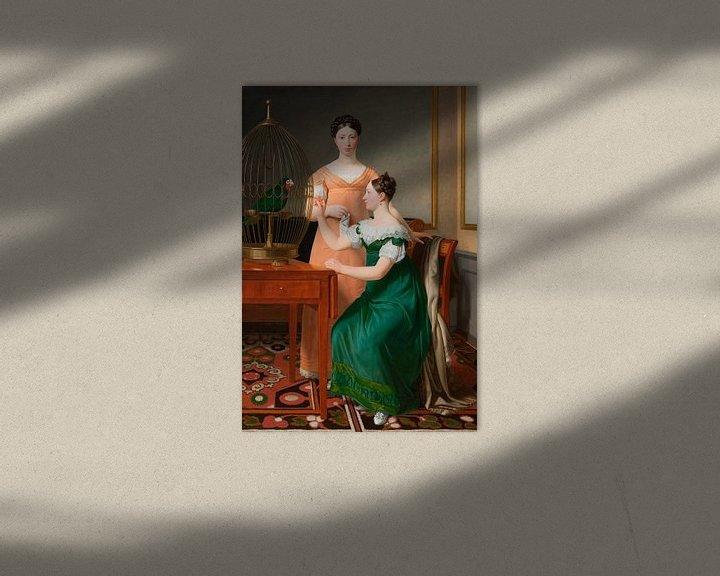 Beispiel: Die älteren Töchter von Mendel Levin Nathanson, Christoffer Wilhelm Eckersberg