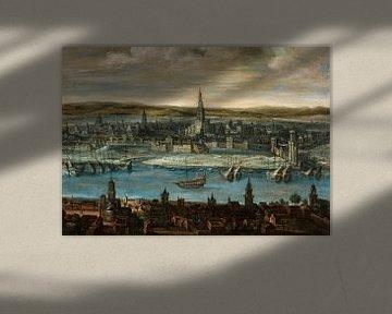 Ansicht von Sevilla, Louis de Caullery