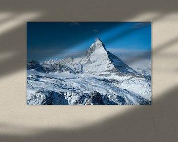 De Matterhorn in de winter van Ralph Rozema