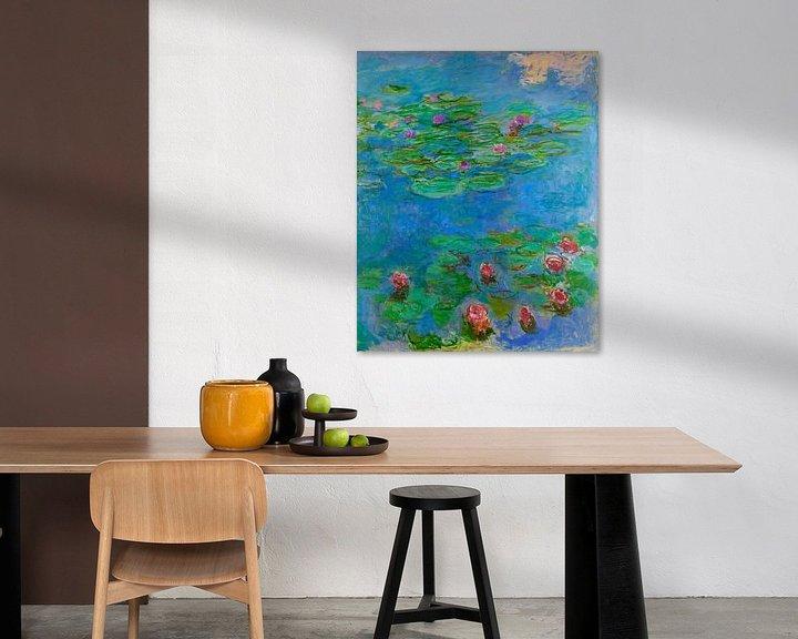 Beispiel: Seerosen (Detail), Claude Monet