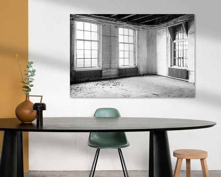 Beispiel: Verlassenes Schulgebäude innen von Sjoerd van der Wal