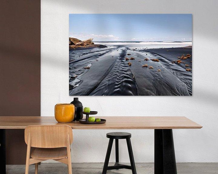 Beispiel: Dunkler Strand mit Sandrippen von Ralf Lehmann