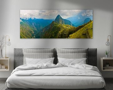 Panorama Machu Picchu, Pérou sur Henk Meijer Photography