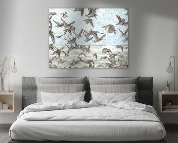 A Flock of Seagulls sur Floris De Mol