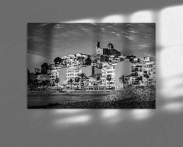 Altea in schwarz-weiß von Jellie van Althuis